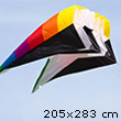 Flowform 4.0 - Single-line lifter Kite (205x283cm) HQ Kites