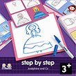 Step by Step Joséphine and Co - Éduludo - Learn to draw Djeco