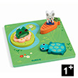 Relief Puzzle 123 Froggy Djeco