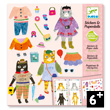 Stickers & Paperdolls Reusable My cat friends Design By
