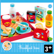 Breakfast Time Wooden Toy for pretend play