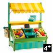Leo's shopkeeper Toy for pretend play Djeco