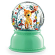 Fawn Night Light - Snow Globe