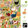 Magnetic's Magnimo - 42 wooden magnetic pieces Djeco