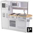 Uptown White Kitchen - Pretend Play Toy KidKraft
