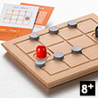 Sia Sola - Wooden Solitary Game of logic Gerhards Spiel und Design