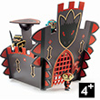 Ze Dragon Castle - Arty Toys Knights Djeco