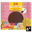 Box of 24 coloured pencils Djeco