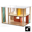 Cubic House - Wooden Dollhouse (empty) Djeco