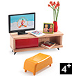 Le salon TV - Petit Home by Djeco Djeco