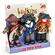 Pirates - Pack de 3 figurines Budkins Le Toy Van
