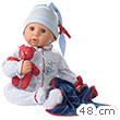 Cookie Baby Doll with soft body 48 cm