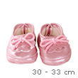 Pink Moccasins Shoes - Clothes for dolls 30-33 cm