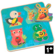 Croc-Carrot Wooden Jigsaw Puzzle Djeco