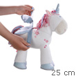 Unicorn Little Star - doll 25 cm