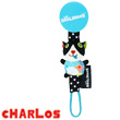 Charlot Pacifier Holder - Déglingos Nursery Déglingos