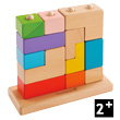 3D Puzzle - Wooden Blocks EverEarth