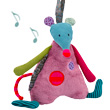 Musical Mouse Plush - Les Jolis pas Beaux Moulin Roty