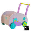 Wooden Walking trolley - Les Jolis pas Beaux Moulin Roty