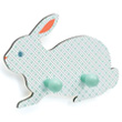 Wooden coat hook Rabbit - Little Big Room Little Big Room by Djeco