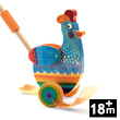 Bettie - Push-along Wooden Toy Djeco