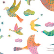 Glitter Stickers Bling Bling Birds - Little Big Room Little Big Room by Djeco