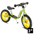 Kids learner bike LR 1L Br with brake - Kiwi Green Puky