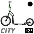 City II Scooter 12+ - BLACK