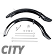 Set of mudguards for Scooter City II