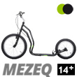Mezeq II trottinette ado/adulte 14+ - BLACK/GREEN Yedoo