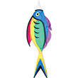 Rainbow Surgeon Fish Decorative Windsock 132cm Premier Kites & Designs