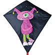 Girl Monster Large Diamond Kite 81x76cm