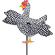 Outdoor Spinner WhirliGig Chicken 30cm