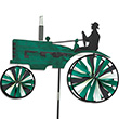 Green Old Tractor Spinner 73cm - Outdoor Deco Premier Kites & Designs