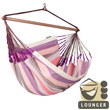 Weatherproof Hammock Chair Lounger Domingo Plum La Siesta Hammocks