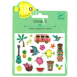 Mini Sticker Puffy - Hawaii designs Djeco