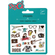 Mini pochette stickers - Pop Rock Djeco