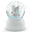 Lila & Pupi Night Light & Snow Globe Little Big Room by Djeco