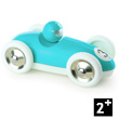 Turquoise Roadster - Wooden Model Car