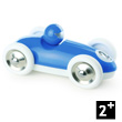Blue Roadster - Wooden Model Car