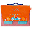 Schoolbag with embroidered name - Cabriolet