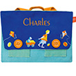 Schoolbag with embroidered name - Trolley L'Oiseau Bateau