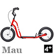 Mau Scooter 4+ - NEW RED Yedoo