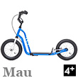 Mau Scooter 4+ - NEW BLUE Yedoo