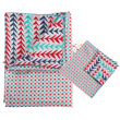 Graphic Bedding - Pillow cover + Duvet cover Little Big Room by Djeco