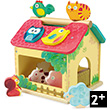 Farm with animal shapes - Early Learning Wooden Toy Vilac