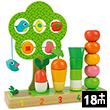 I learn counting vegetables - Early Learning Wooden Toys Vilac