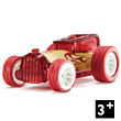 Bamboo Model Car Mighty Mini Bruiser (bordeaux) Hape Toys