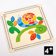 Happy Snail Paint and Frame - Creative Activity