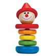 Happy Clown Wooden Rattle Hape Toys